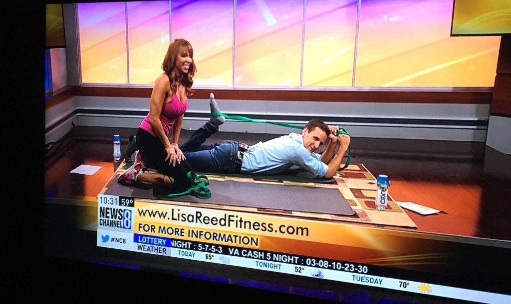 Stretching For Success On WJLA