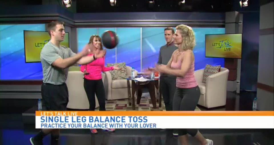 Couple's Workout For Valentine's Day On WJLA