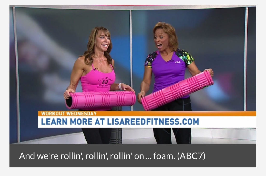 Foam Rolling On Good Morning Washington