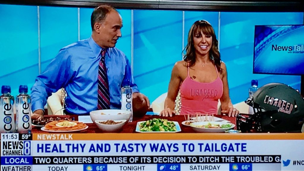 Healthy & Tasty Ways To Tailgate On Sports Talk LIVE