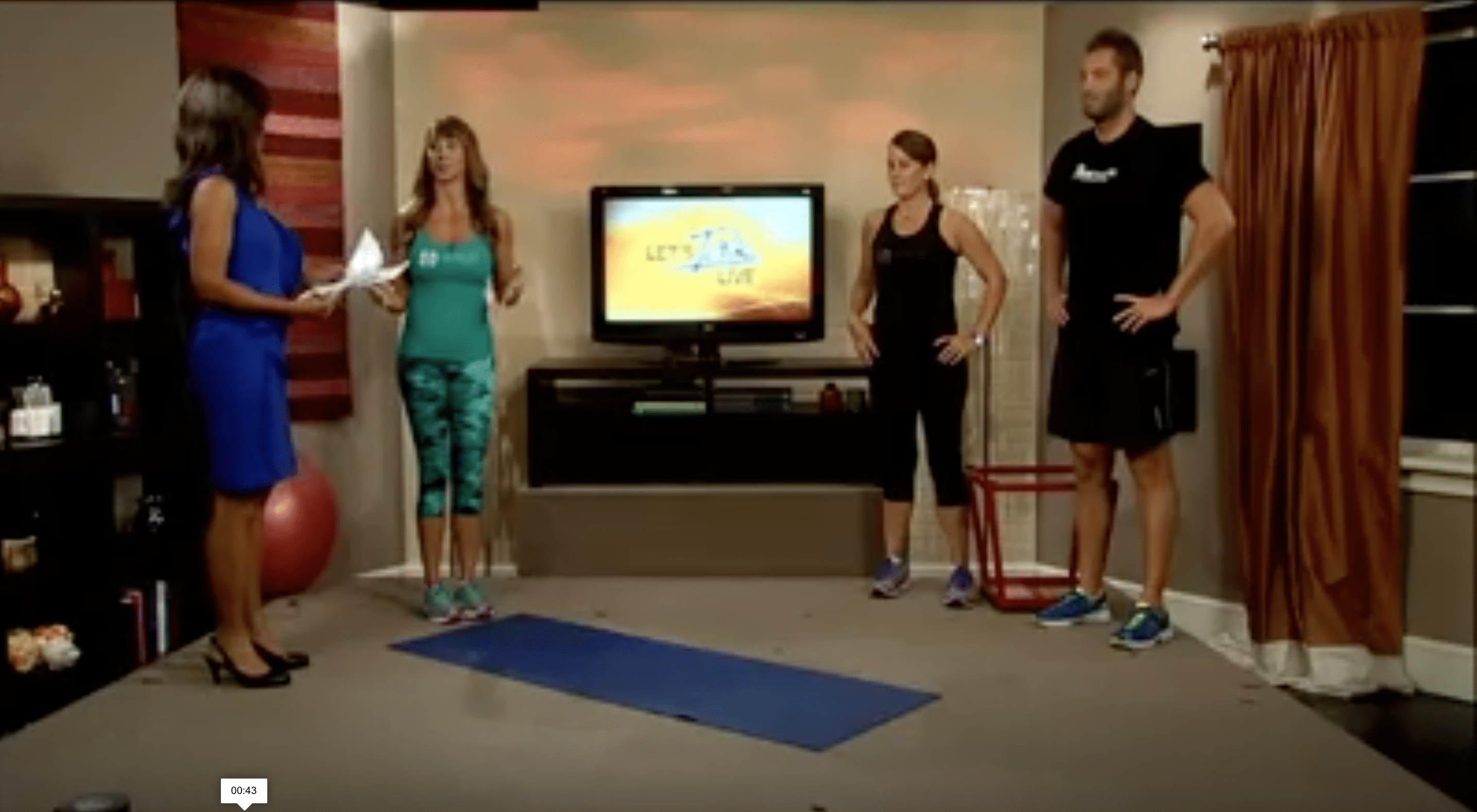 Couples Workout On WJLA