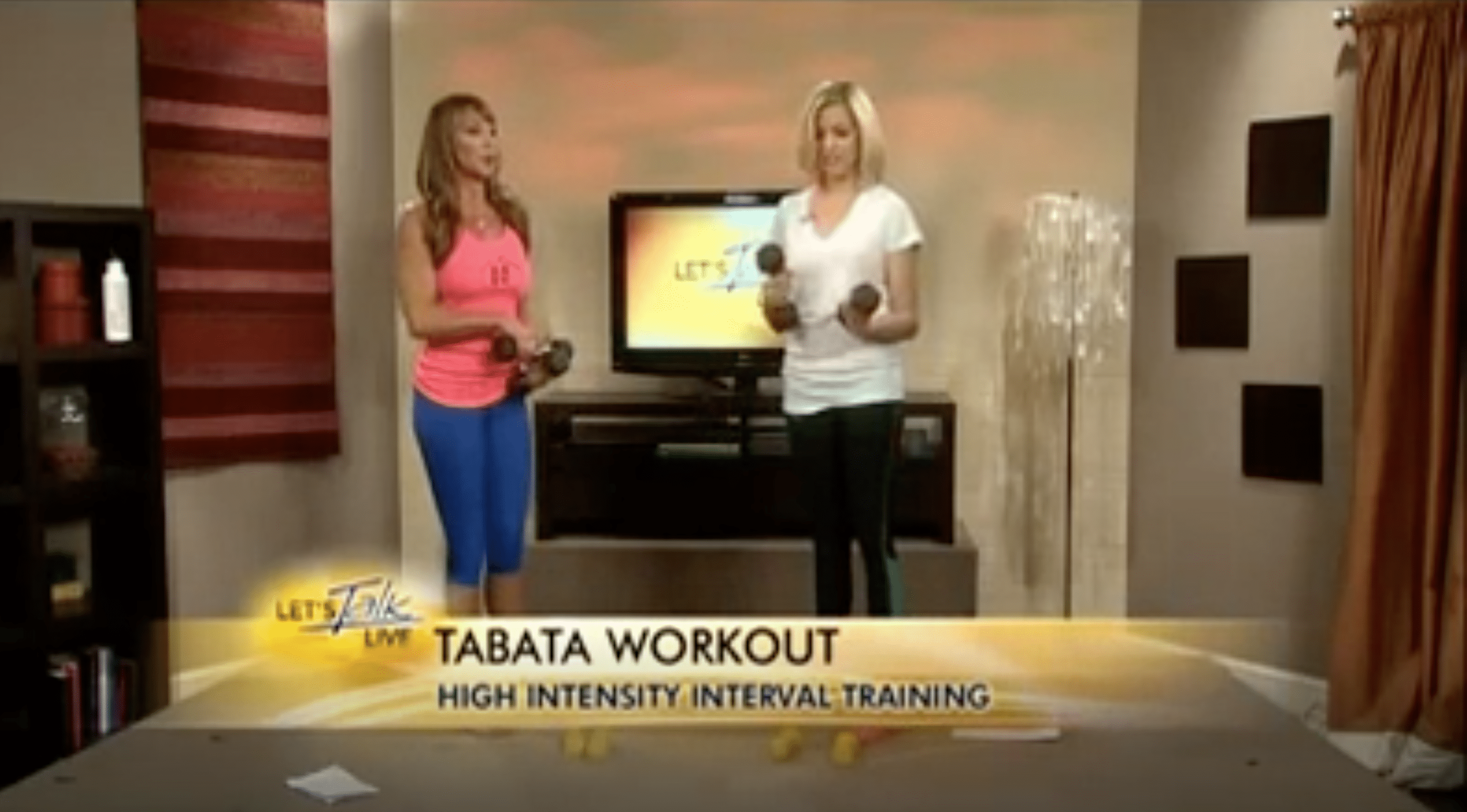 Tank Top Arms Workout On WJLA